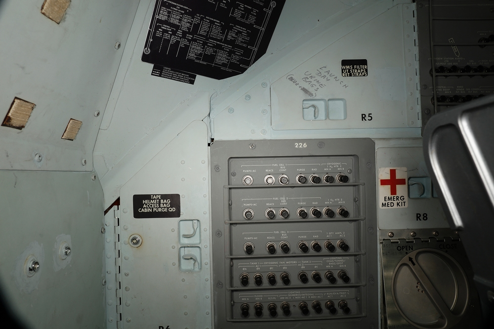 Hidden Graffiti Has Been Discovered Inside The Apollo 11 Command Module
