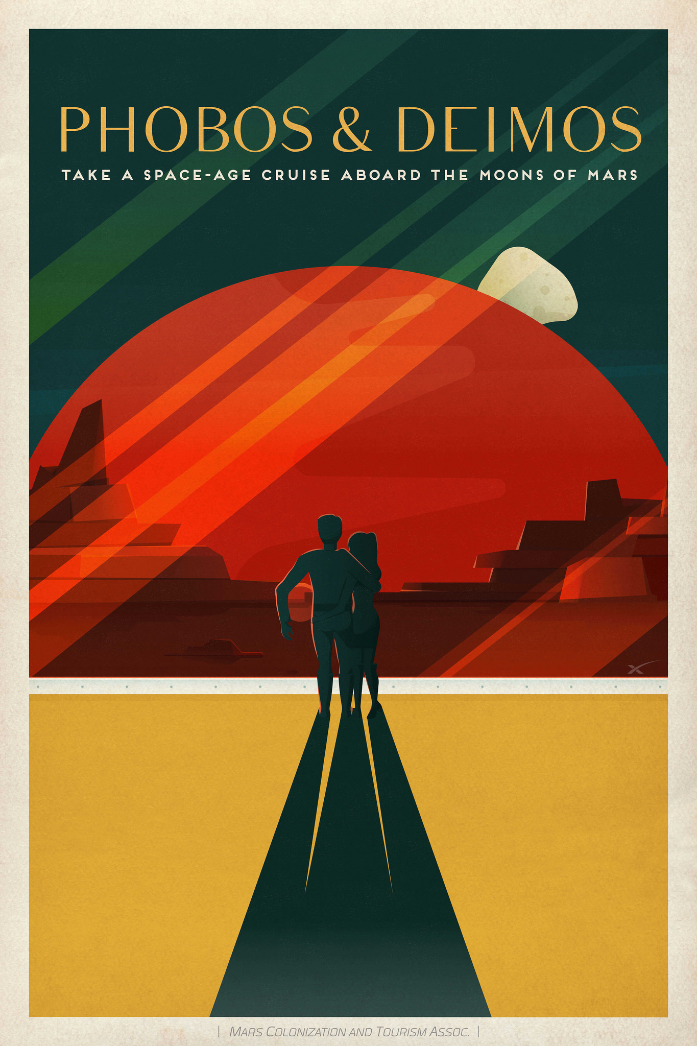Spacex S Vintage Travel Posters Make Us Want To Go To Mars Now