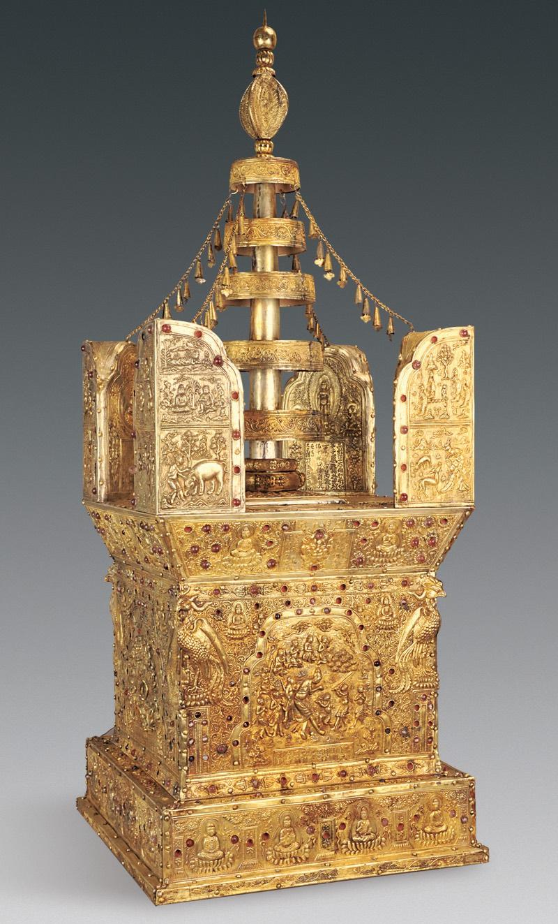 model-stupa-buddha