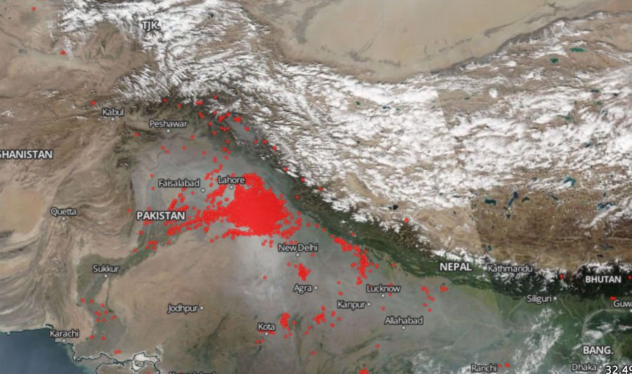 The Smog in India Is So Bad Right Now, You Can See It From ...