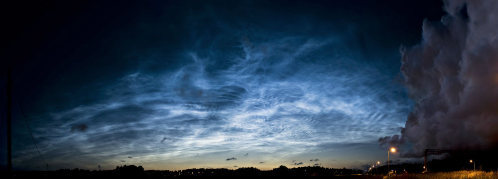 Noctilucent Clouds Shows