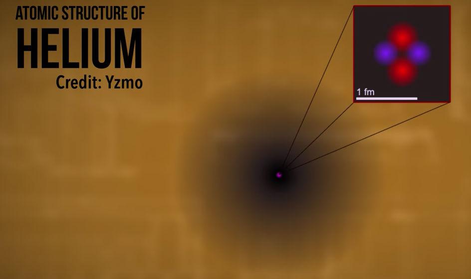 helium-electron-cloud