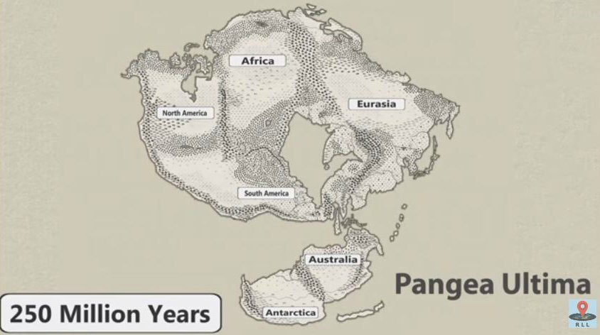Map Of Australia 20000 Years Ago.Here S A Mind Melting Snapshot Of What Earth Will Look Like In 1