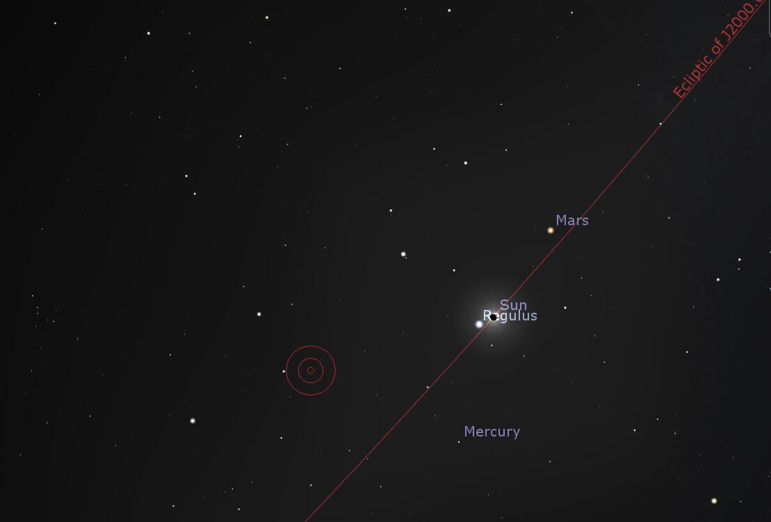 Sun Mercury totality