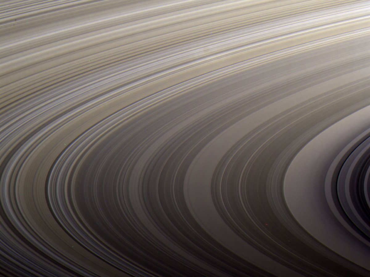 cassini close up of rings
