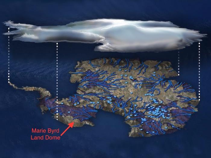 antarctica under ice