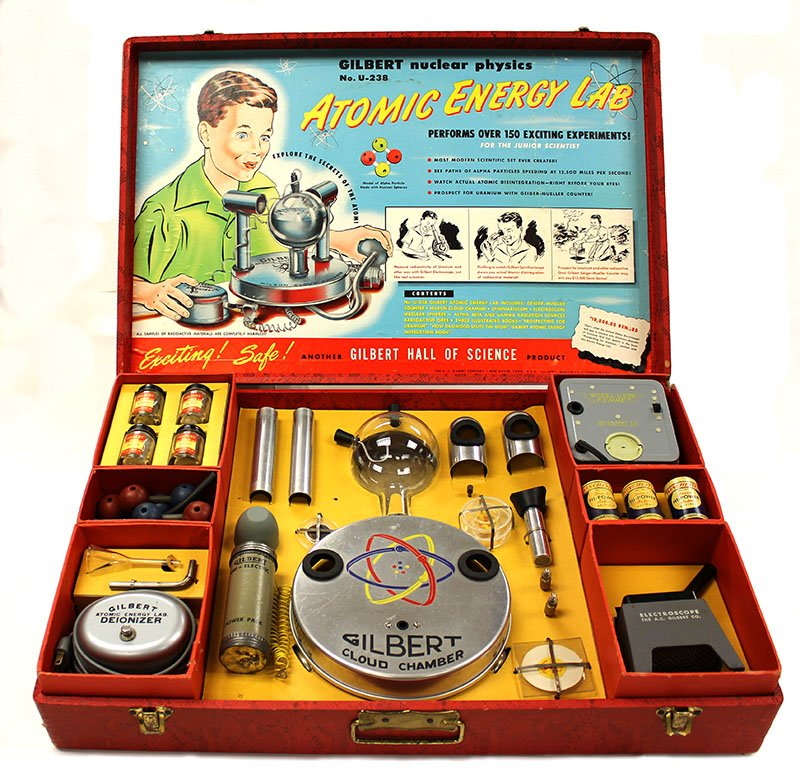 Gilbert atomics kit
