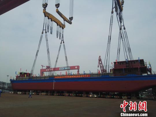china's electric cargo ship