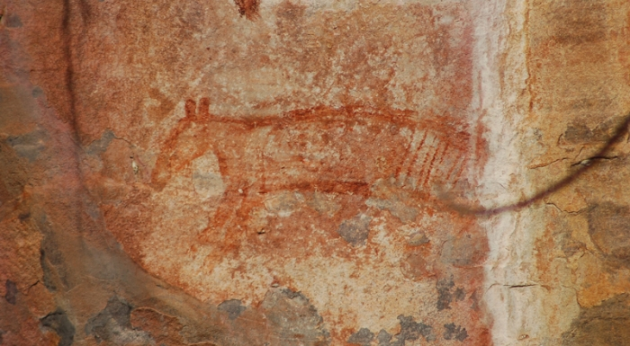 thylacine rock art ubirr