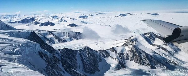 Stunning NASA photos show the graceful slow motion of Antarctic ice