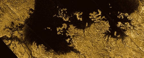 We now have a complete map of Titan's surface and it's surprisingly like Earth