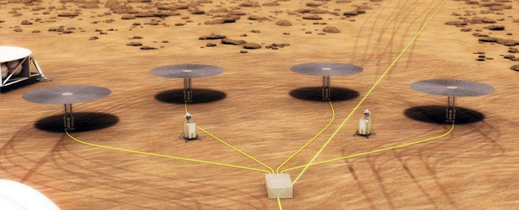 NASA Is Testing a Mini Nuclear Reactor to Keep The Lights on When We Get to Mars