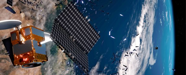 Chinese researchers say we could use lasers to destroy space junk