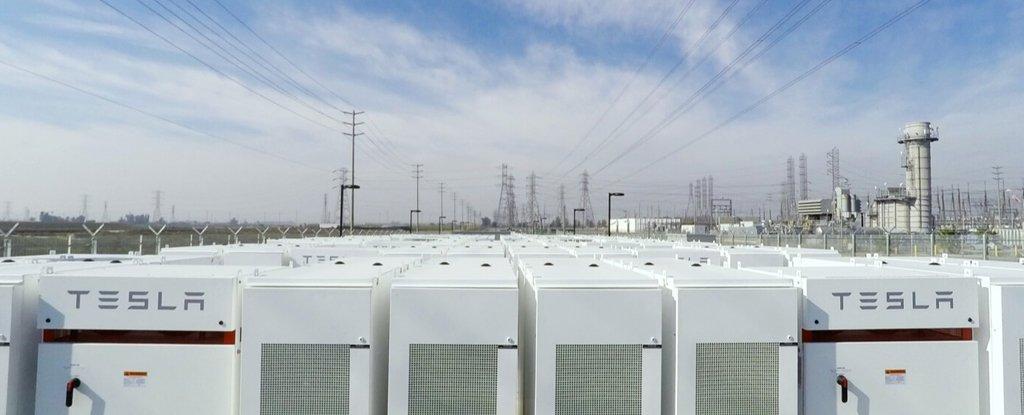 Elon Musk S Huge Battery In South Australia Made 1