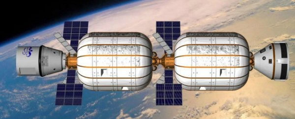We could have two Space Hotels as Early as 2021
