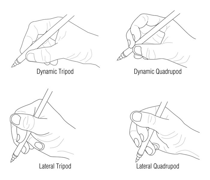 pencil grip types