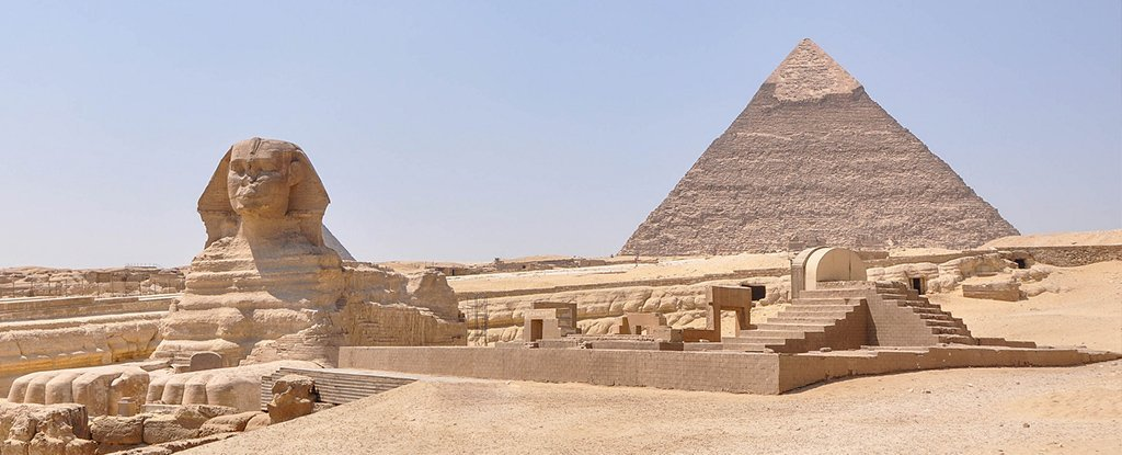 The Great Pyramid of Giza Is Actually Lopsided