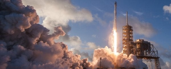 SpaceX is launching the first 2 satellites to bring high-speed internet for all of Earth
