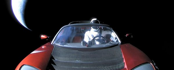Where in space is Elon Musk's Roadster right now?