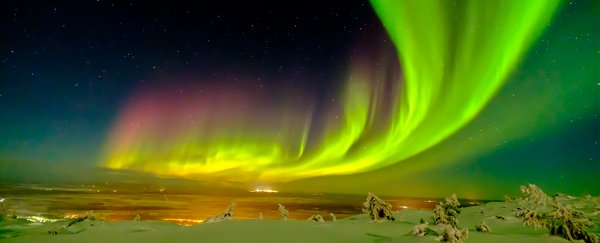 mysterious pulsating auroras exist and scientists might have