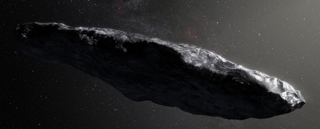 Our First Interstellar Visitor Crashed Into Something Mysterious Before It Got Here