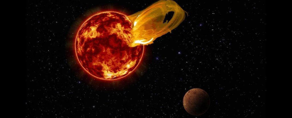 The Closest Star To Our Solar System Has Suffered An Insane Eruption