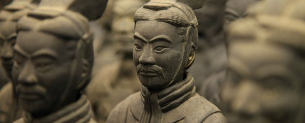 A man stole the thumb of a 2,000-year-old terracotta warrior just to take a selfie