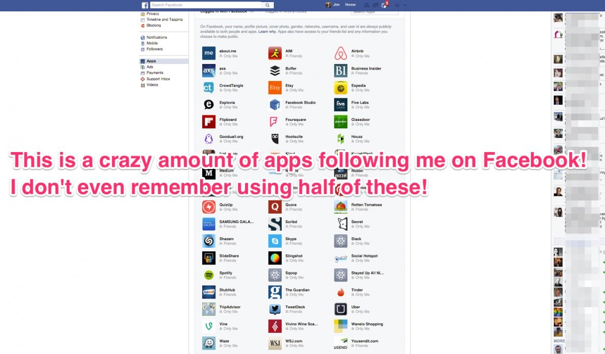 How to see and block all the apps tracking you on facebook fb5 buycottarizona Images