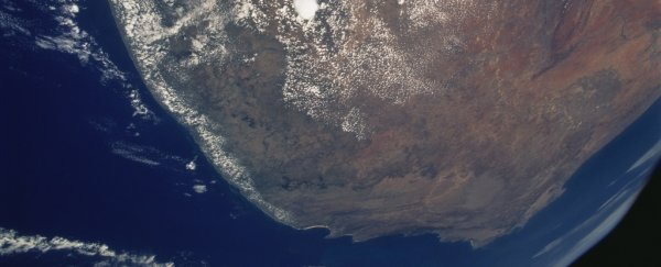 A Mysterious Anomaly Under Africa Is Radically Weakening Earth's