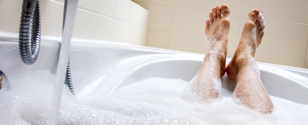 Image result for take bubble bath to keep warm