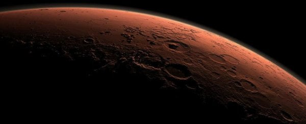 A cosmology professor accidentally announces the re-discovery of Mars