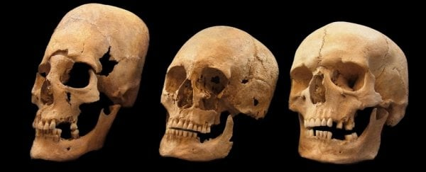 The mystery of bizarre elongated skulls found in Germany could finally be solved