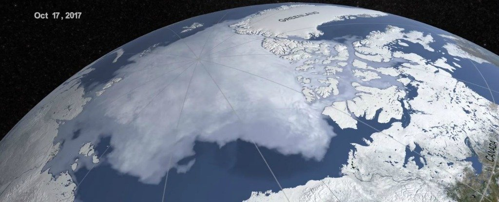 This Haunting NASA Footage of Arctic Sea Ice Will Keep You Up at Night