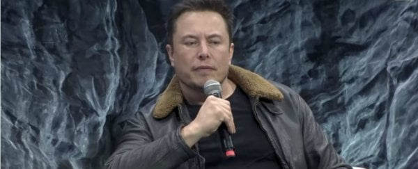 This is how stressed Elon Musk is about artificial intelligence