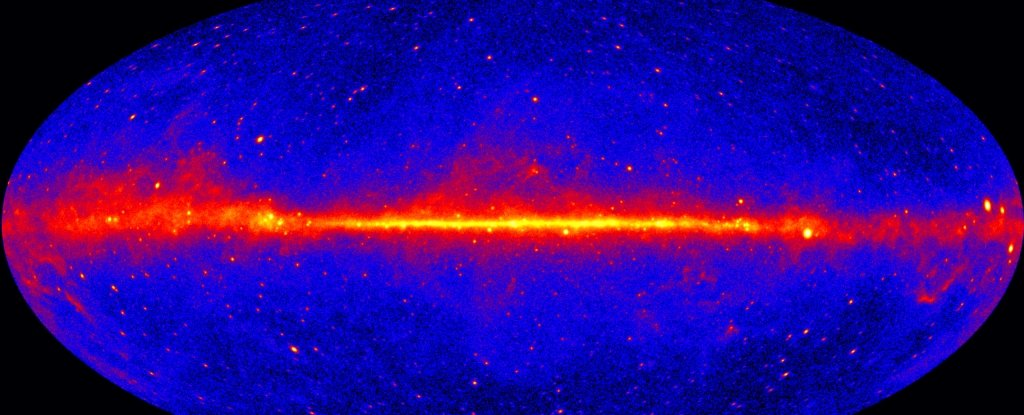 Strange Gamma Rays From The Centre of Our Galaxy Are Not What Astronomers Thought