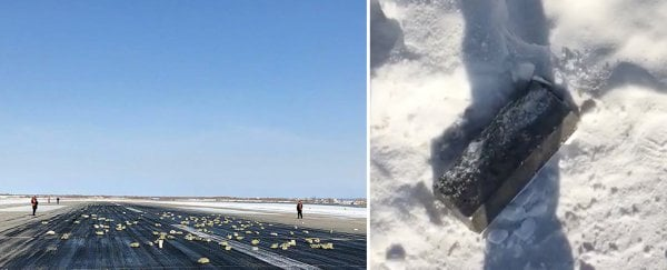 Gold bars and diamonds fell out of the sky in Siberia after a cargo plane accident