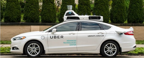 A self-driving Uber car just hit and killed a pedestrian
