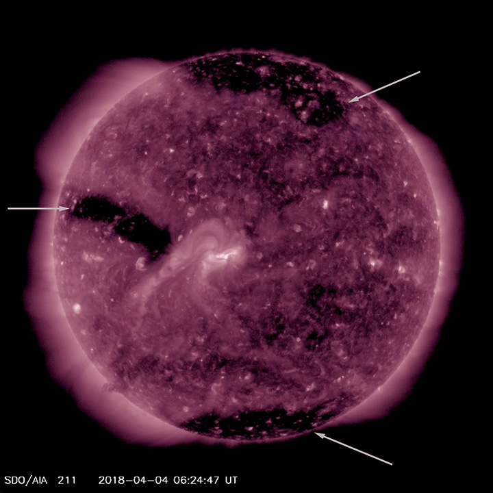solar storm black supermoon - photo #12