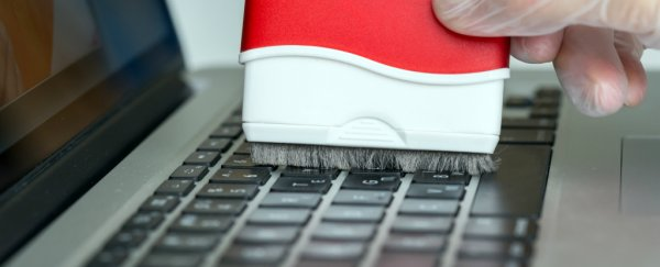 Here's how often you should clean your keyboard, according to science