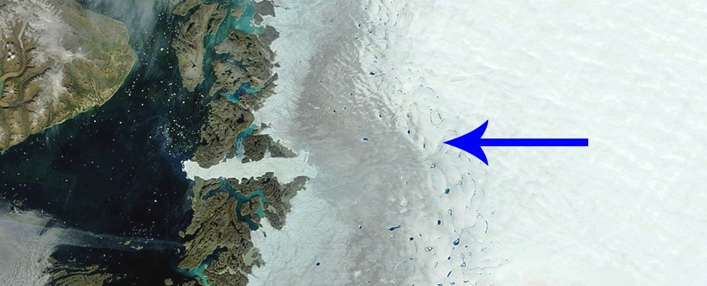 Greenland's Strange 'Dark Zone' Is Becoming a Huge Problem For All of Us