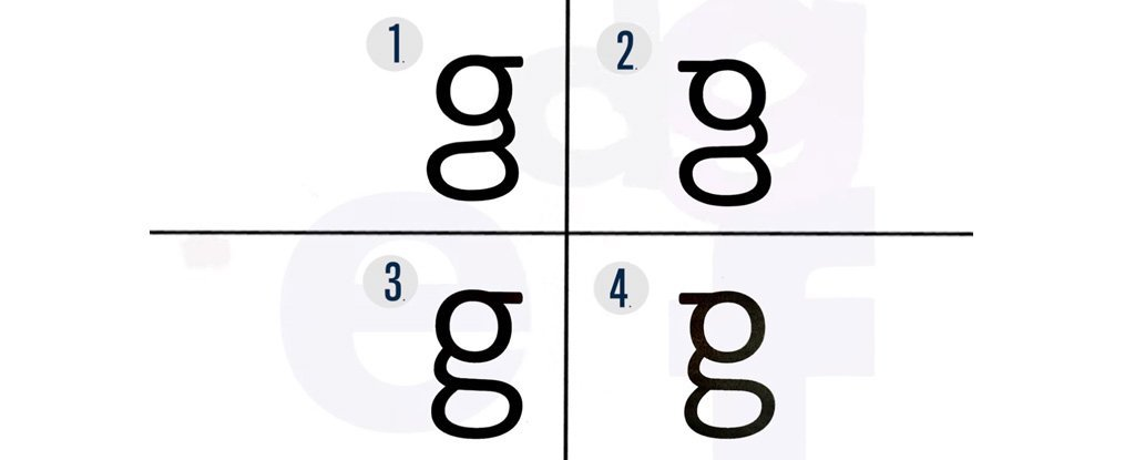 Most People Dont Know What Lowercase G Looks Like And Were Not