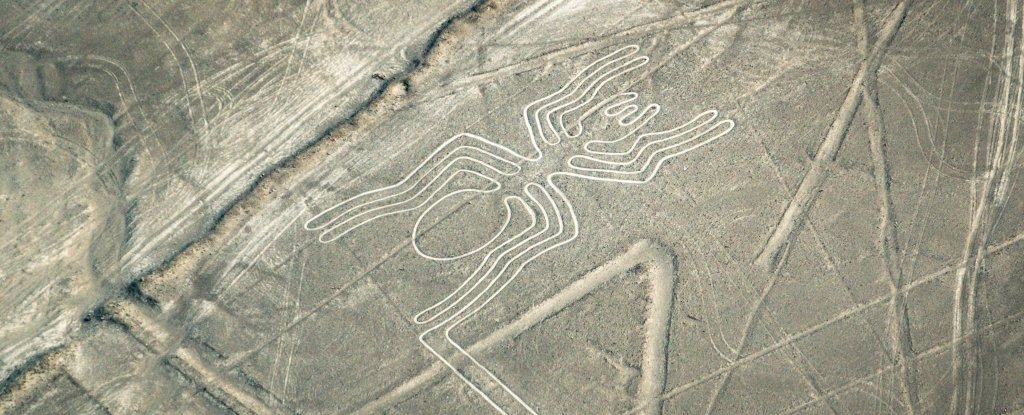 Newly Discovered Nazca Lines Have Been Hiding in The Desert ... on alhambra on a map, ballestas islands on a map, mount nemrut on a map, bonampak on a map, leaning tower of pisa on a map, manu national park on a map, machu picchu on a map, statue of liberty on a map, huayna picchu on a map, saint petersburg on a map, asia on a map, lascaux on a map, mausoleum at halicarnassus on a map, xochicalco on a map, salar de uyuni on a map, christ the redeemer on a map, europe on a map, borobudur on a map, tikal on a map,