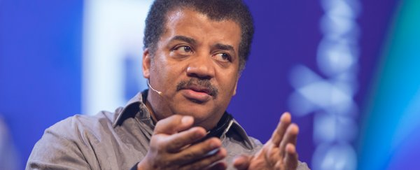 Neil deGrasse Tyson thinks it's 'odd' to say we need to save Earth