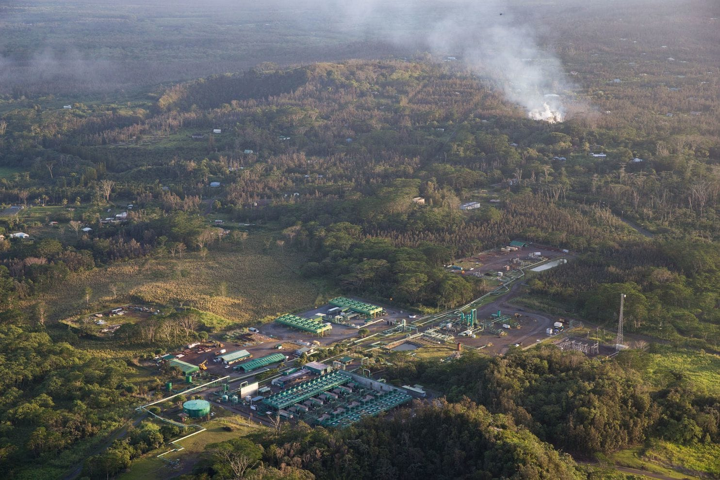 geothermal plant hawaii wapo