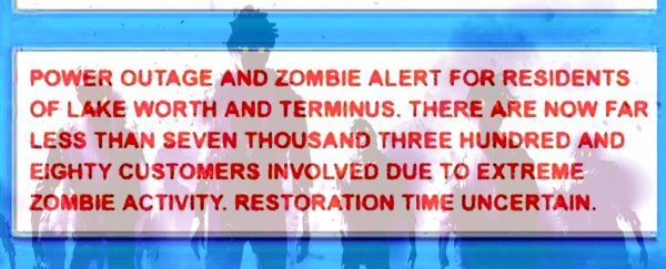 "Thousands in Florida receive ""extreme zombie activity"" emergency alert"