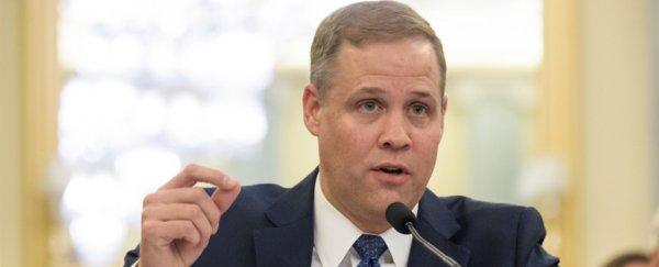 New NASA chief does a complete 180 and admits humans are causing climate change