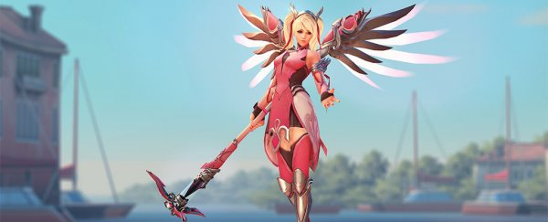 Overwatch offers support to breast cancer research with Mercy charity skin