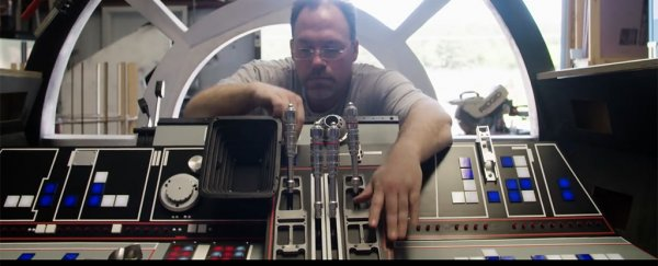 These fans are building a dazzlingly accurate Millennium Falcon cockpit