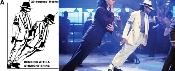 Neuroscientists have cracked the science of Michael Jackson's gravity-defying dance move