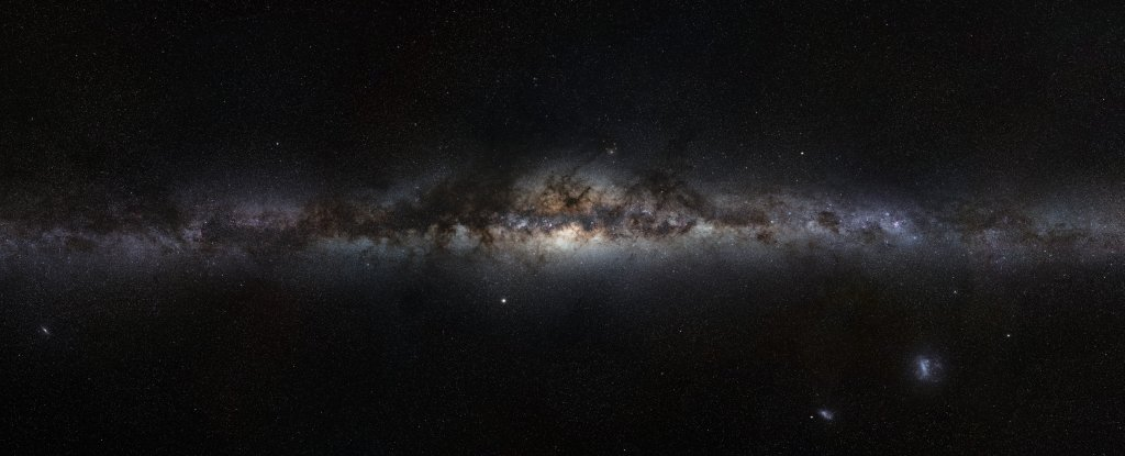 You Can Now Listen to The Weird 'Music' Made by Our Rotating Galaxy